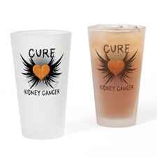 Cure Kidney Cancer Drinking Glass
