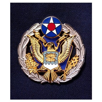 The new Headquarters Air Force badge Poster