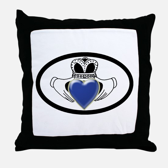 Child Abuse Prevention Throw Pillow