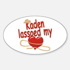 Kaden Lassoed My Heart Decal