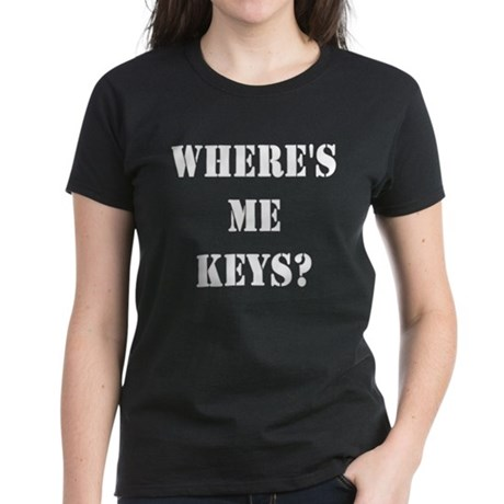 Women's Where's Me Keys T-Shirt