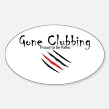 Gone Clubbing Decal