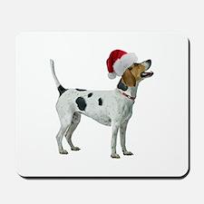 Santa Foxhound Mousepad
