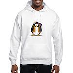 Hippie penguin Hooded Sweatshirt