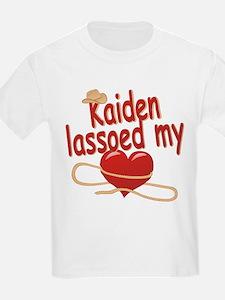Kaiden Lassoed My Heart T-Shirt