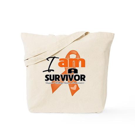 Survivor Kidney Cancer Tote Bag