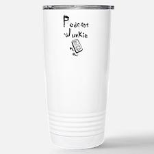 Podcast Junkie Travel Mug