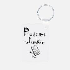 Podcast Junkie Keychains