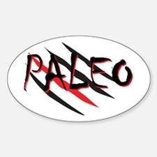 Paleo Red Decal