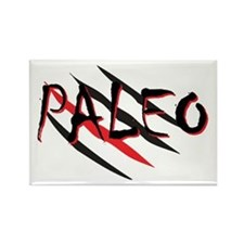 Paleo Red Rectangle Magnet