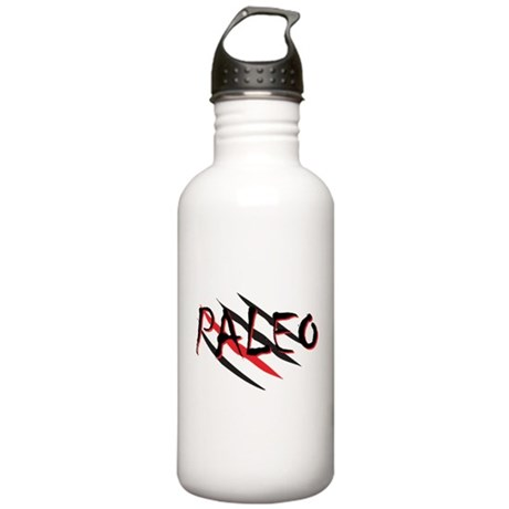 Paleo Red Stainless Water Bottle 1.0L