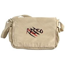 Paleo Red Messenger Bag