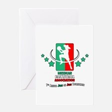 Mexican Basketball Associatio Greeting Card