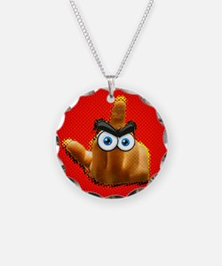 Red The Bird Necklace