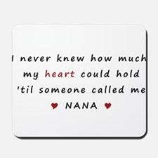 My heart holds Love Mousepad