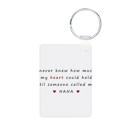 My heart holds Love Aluminum Photo Keychain