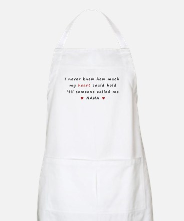 My heart holds Love Apron