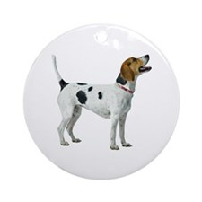 Foxhound Ornament (Round)