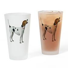 Foxhound Drinking Glass