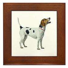 Foxhound Framed Tile