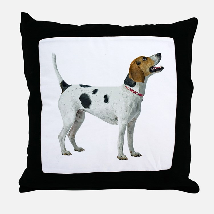 Foxhound Throw Pillow