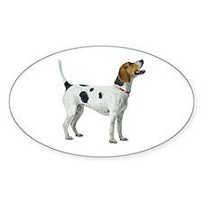 Foxhound Sticker (Oval)