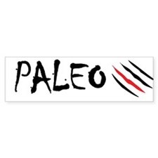 Paleo Cross Bumper Sticker