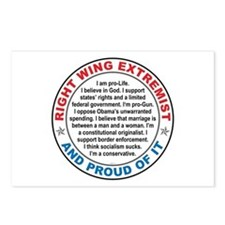 Right Wing Extremist Postcards (Package of 8)