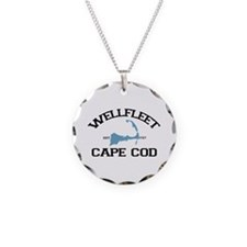 "Wellfleet MA ""Varsity"" Design. Necklace"