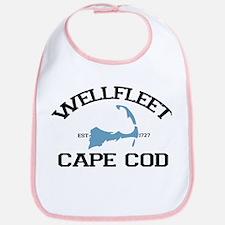 "Wellfleet MA ""Varsity"" Design. Bib"