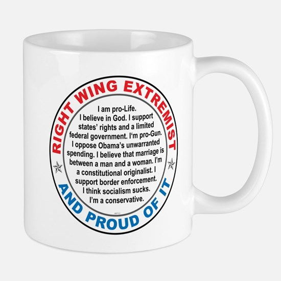 Right Wing Extremist Mug
