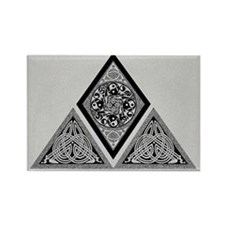 Celtic Pyramid Rectangle Magnet