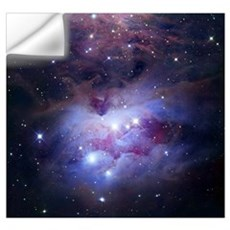 NGC 1977 is a reflection nebula northeast of the O Wall Decal
