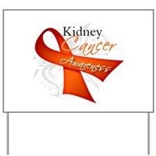Kidney Cancer Awareness Yard Sign
