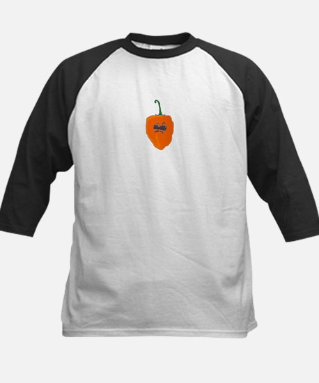 Spicy Intentions Kids Baseball Jersey