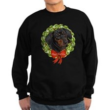 Dachshund Howl-Days Sweatshirt