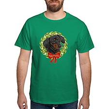 Dachshund Howl-Days T-Shirt