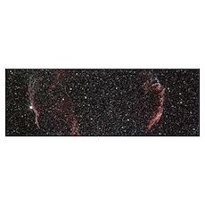 Veil Nebula Mosaic Poster