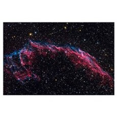 The Eastern Veil Nebula Poster