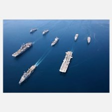 Amphibious Task ForceWest in formation