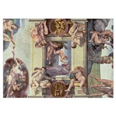 Sistine Chapel Ceiling (1508 12): The Creation of  Poster
