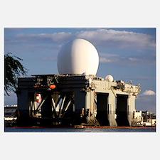 Sea Based Xband Radar dome modeled by the setting