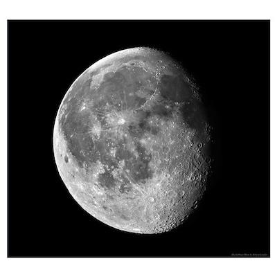 Waning Moon Poster