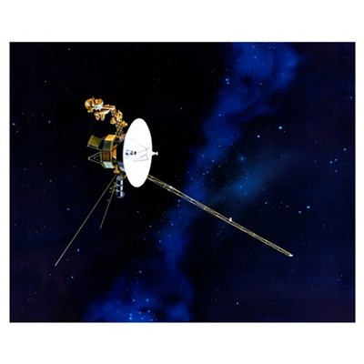 Artists Concept of Voyager Poster