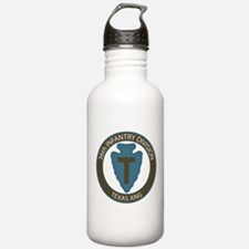 36th Infantry Texas ANG Water Bottle