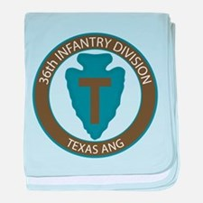 36th Infantry Texas ANG baby blanket