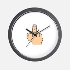 Fingered Wall Clock