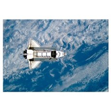 Space Shuttle Atlantis Canvas Art