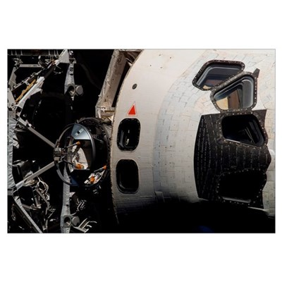Space Shuttle Atlantis Framed Print