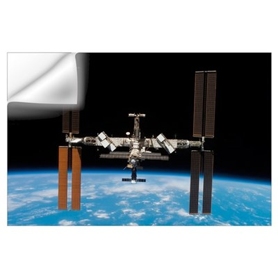 International Space Station Wall Decal